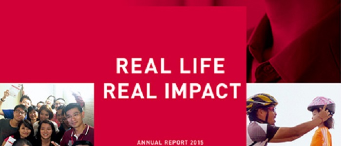 2015 Annual Report -  Real Life, Real Impact