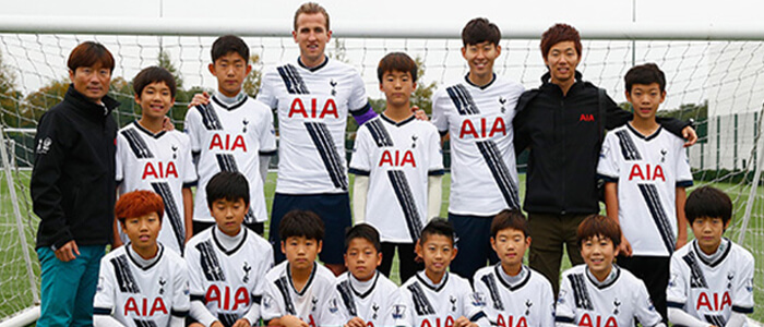Partnership with Tottenham Hotspur Football Club